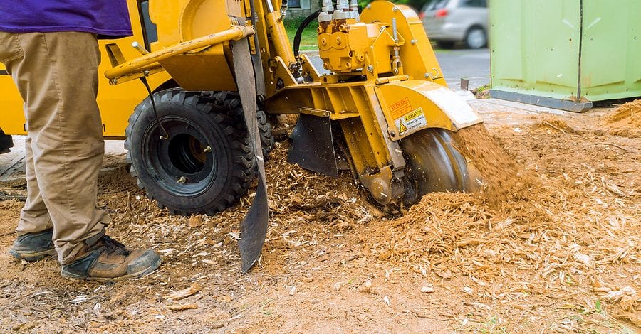 Stump Removal by Complete Tree Service of St. Louis, LLC